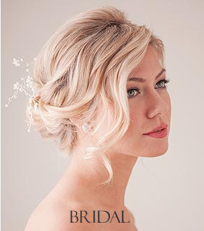 Bridal hair Plympton Plymouth